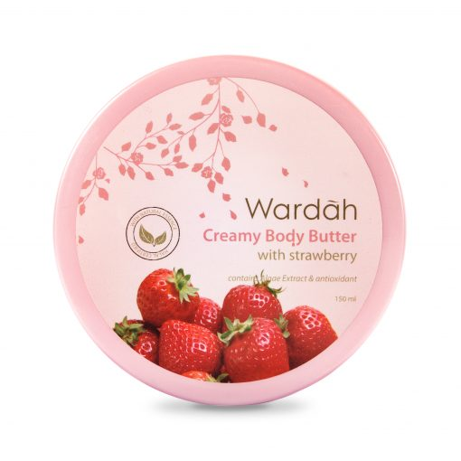 Wardah Creamy Body Butter with Strawberry 150ml